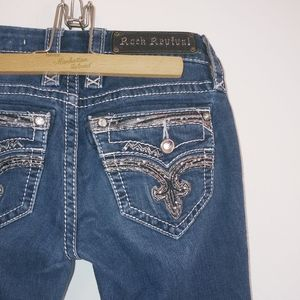 Rock Revival Deeka straight leg jeans